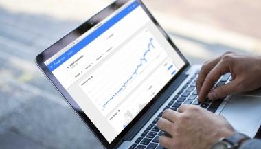 Google Trends Hockey Stick Growth - Digital Transformation